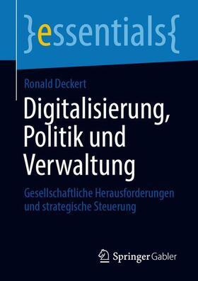 Deckert   Digitalisierung, Politik und Verwaltung   Buch   sack.de
