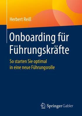 Reiß   Onboarding für Führungskräfte; .   Buch   sack.de