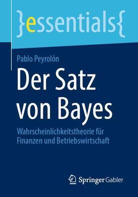 Peyrolón | Der Satz von Bayes | Buch | sack.de