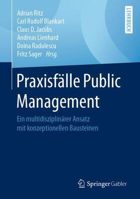 Ritz / Blankart / Jacobs | Praxisfälle Public Management | Buch | sack.de