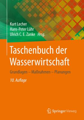 Lecher / Lühr / Zanke | Taschenbuch der Wasserwirtschaft | Buch | sack.de