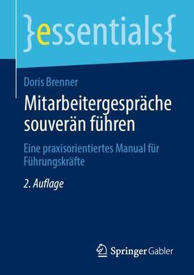 Brenner   Mitarbeitergespräche souverän führen   Buch   sack.de