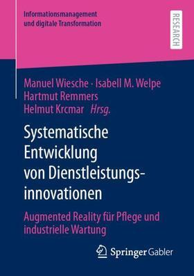 Wiesche / Welpe / Remmers   Systematische Entwicklung von Dienstleistungsinnovationen   Buch   sack.de