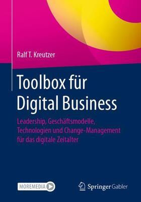Kreutzer   Toolbox für Digital Business   Buch   sack.de