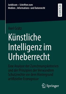 Grätz | Künstliche Intelligenz im Urheberrecht | Buch | sack.de