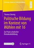 Stornig |  Politische Bildung im Kontext von Wählen mit 16 | Buch |  Sack Fachmedien