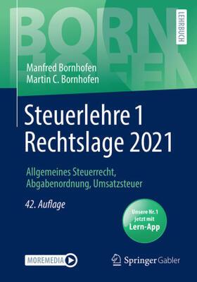 Bornhofen / Bornhofen | Steuerlehre 1 Rechtslage 2021 | Buch | sack.de