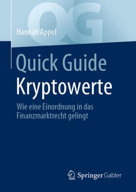 Appel | Quick Guide Kryptowerte | Buch | sack.de