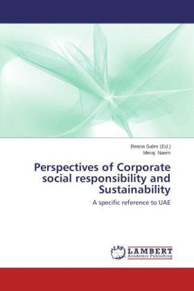 Perspectives of Corporate social responsibility and Sustainability | Buch | sack.de