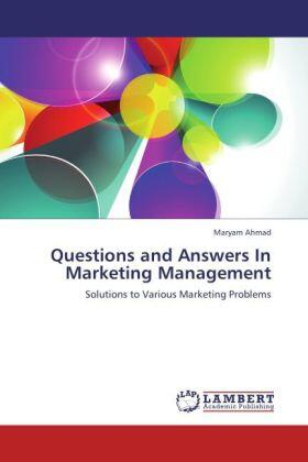 Ahmad | Questions and Answers In Marketing Management | Buch | sack.de