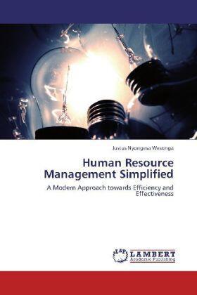 Nyongesa Wesonga   Human Resource Management Simplified   Buch   sack.de