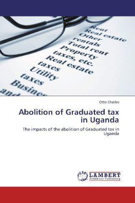 Abolition of Graduated tax in Uganda | Buch | sack.de
