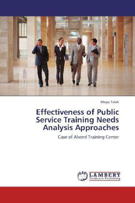Talak | Effectiveness of Public Service Training Needs Analysis Approaches | Buch | sack.de