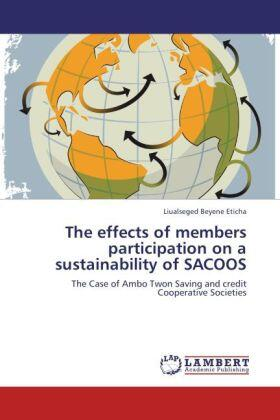 Eticha | The effects of members participation on a sustainability of SACOOS | Buch | sack.de