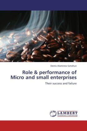Getahun   Role & performance of Micro and small enterprises   Buch   sack.de