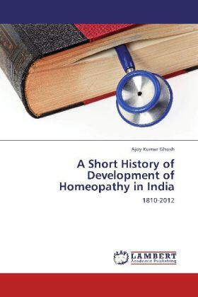 Ghosh | A Short History of Development of Homeopathy in India | Buch | sack.de