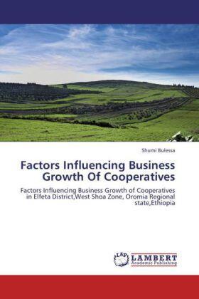 Bulessa | Factors Influencing Business Growth Of Cooperatives | Buch | sack.de
