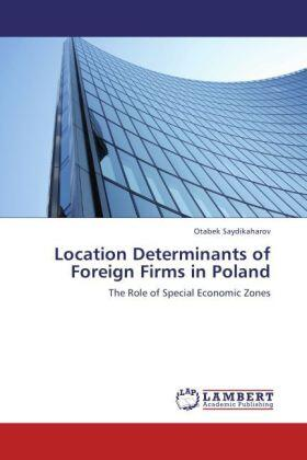 Location Determinants of Foreign Firms in Poland | Buch | sack.de