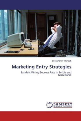 Ofori-Mensah   Marketing Entry Strategies   Buch   sack.de