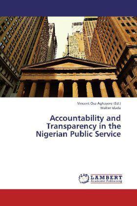 Idada / Aghayere | Accountability and Transparency in the Nigerian Public Service | Buch | sack.de