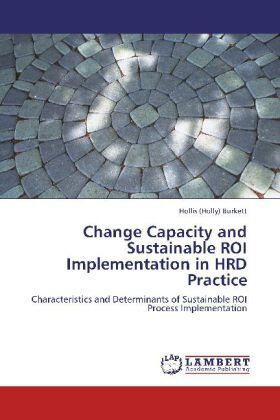 Burkett   Change Capacity and Sustainable ROI Implementation in HRD Practice   Buch   sack.de
