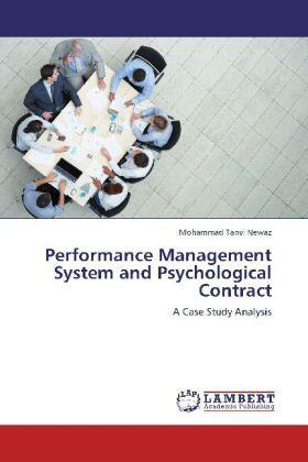 Newaz | Performance Management System and Psychological Contract | Buch | sack.de