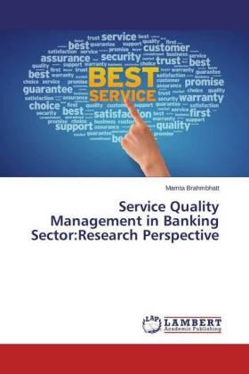 Brahmbhatt | Service Quality Management in Banking Sector:Research Perspective | Buch | sack.de