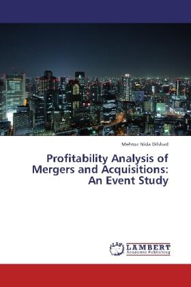 Profitability Analysis of Mergers and  Acquisitions: An Event Study   Buch   sack.de