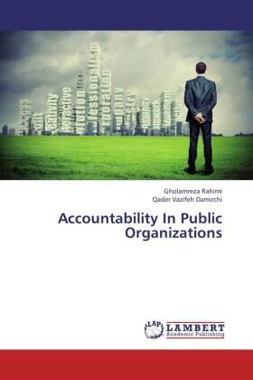 Accountability In Public Organizations   Buch   sack.de