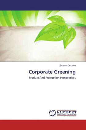 Guziana | Corporate Greening | Buch | sack.de