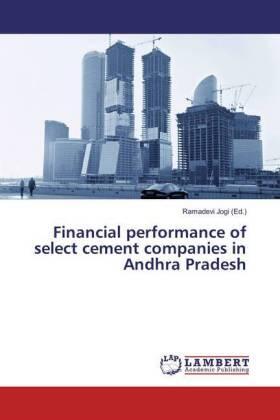 Jogi | Financial performance of select cement companies in Andhra Pradesh | Buch | sack.de