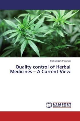 Peraman | Quality control of Herbal Medicines - A Current View | Buch | sack.de