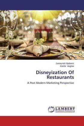 Nadeem / Asghar | Disneyization Of Restaurants | Buch | sack.de