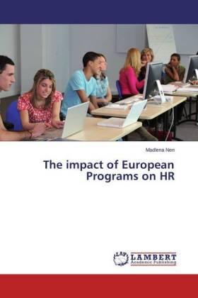 The impact of European Programs on HR   Buch   sack.de