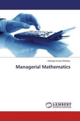 Managerial Mathematics | Buch | sack.de