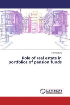 Vancura | Role of real estate in portfolios of pension funds | Buch | sack.de