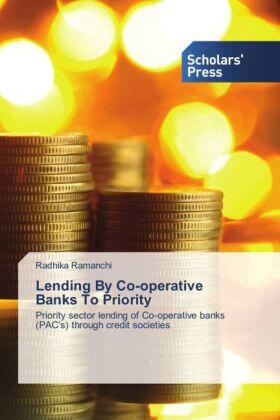 Ramanchi | Lending By Co-operative Banks To Priority | Buch | sack.de