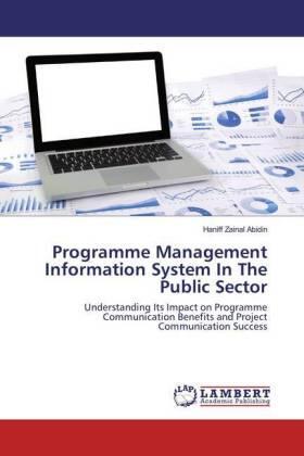 Zainal Abidin   Programme Management Information System In The Public Sector   Buch   sack.de