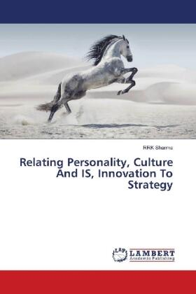 Sharma | Relating Personality, Culture And IS, Innovation To Strategy | Buch | sack.de