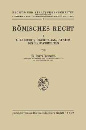 Schwind   Römisches Recht   Buch   sack.de