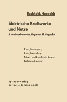 Happoldt | Elektrische Kraftwerke und Netze | Buch | sack.de