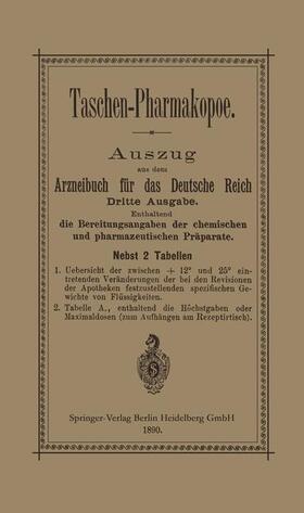 Taschen-Pharmakopoe | Buch | sack.de