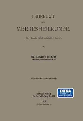 Hiller | Lehrbuch der Meeresheilkunde | Buch | sack.de