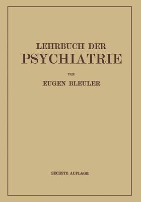 Bleuler | Lehrbuch der Psychiatrie | Buch | sack.de