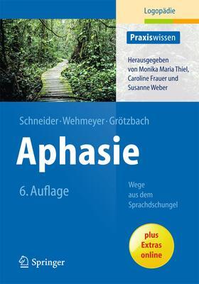 Schneider / Wehmeyer / Grötzbach | Aphasie | Buch | sack.de