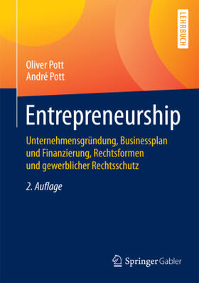 Pott / Pott | Entrepreneurship | Buch | sack.de