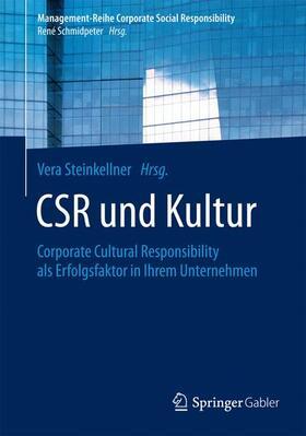 Steinkellner | CSR und Kultur | Buch | sack.de