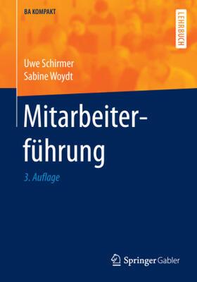 Schirmer / Woydt | Mitarbeiterführung | Buch | sack.de