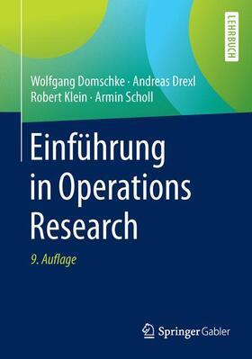 Domschke / Drexl / Klein | Einführung in Operations Research | Buch | sack.de