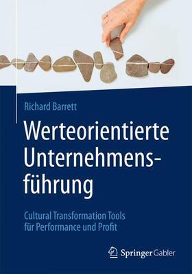 Barrett   Werteorientierte Unternehmensführung   Buch   sack.de